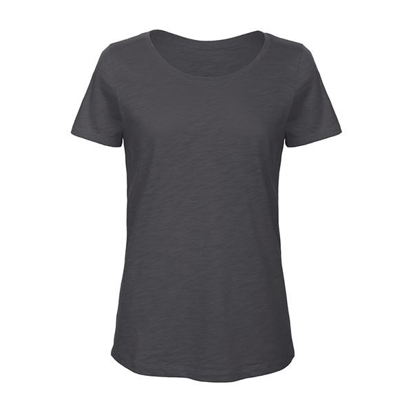 T-shirt Col Évasé